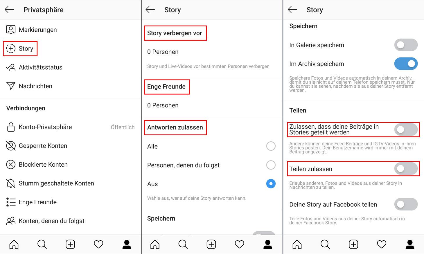 So konfigurieren Sie, wer Ihre Instagram-Geschichten sehen kann