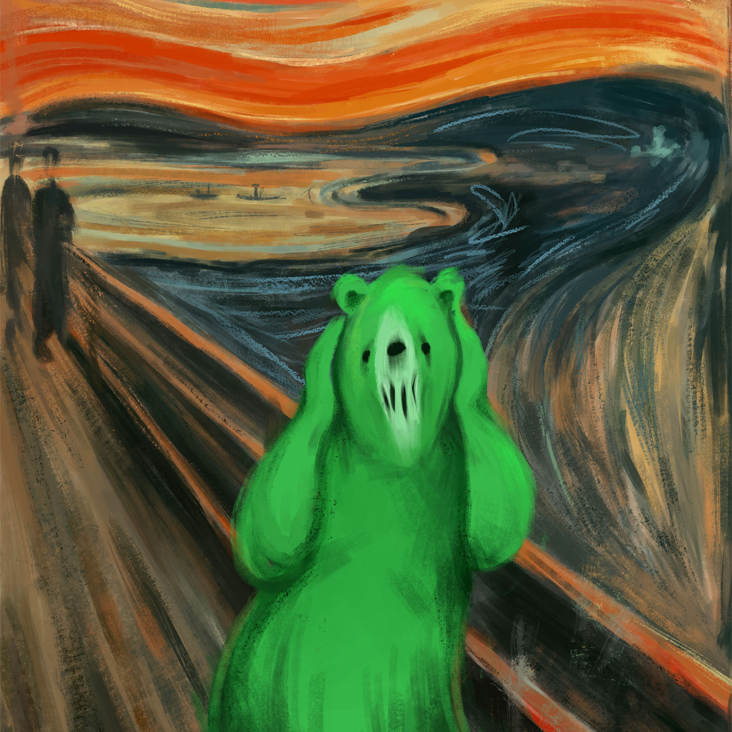 Edvard Munch. Der Schrei