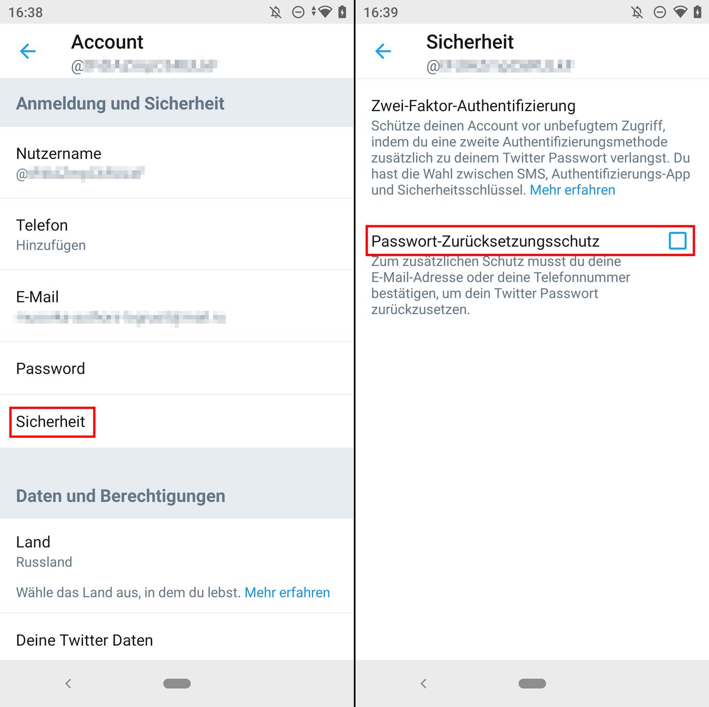 So verhindern Sie, dass Hacker Ihr Twitter-Passwort ändern