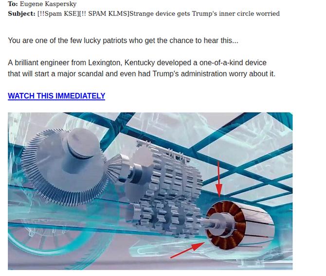 Nachrichten über eine Erfindung, die die Trump-Regierung in Aufregung versetzt hat