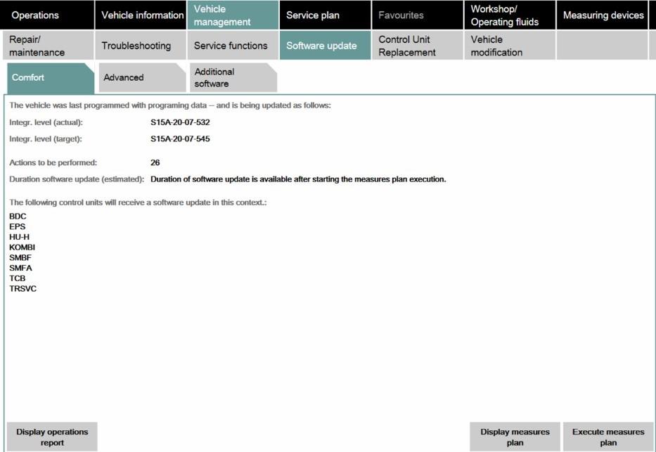 BMW-Softwareupdates
