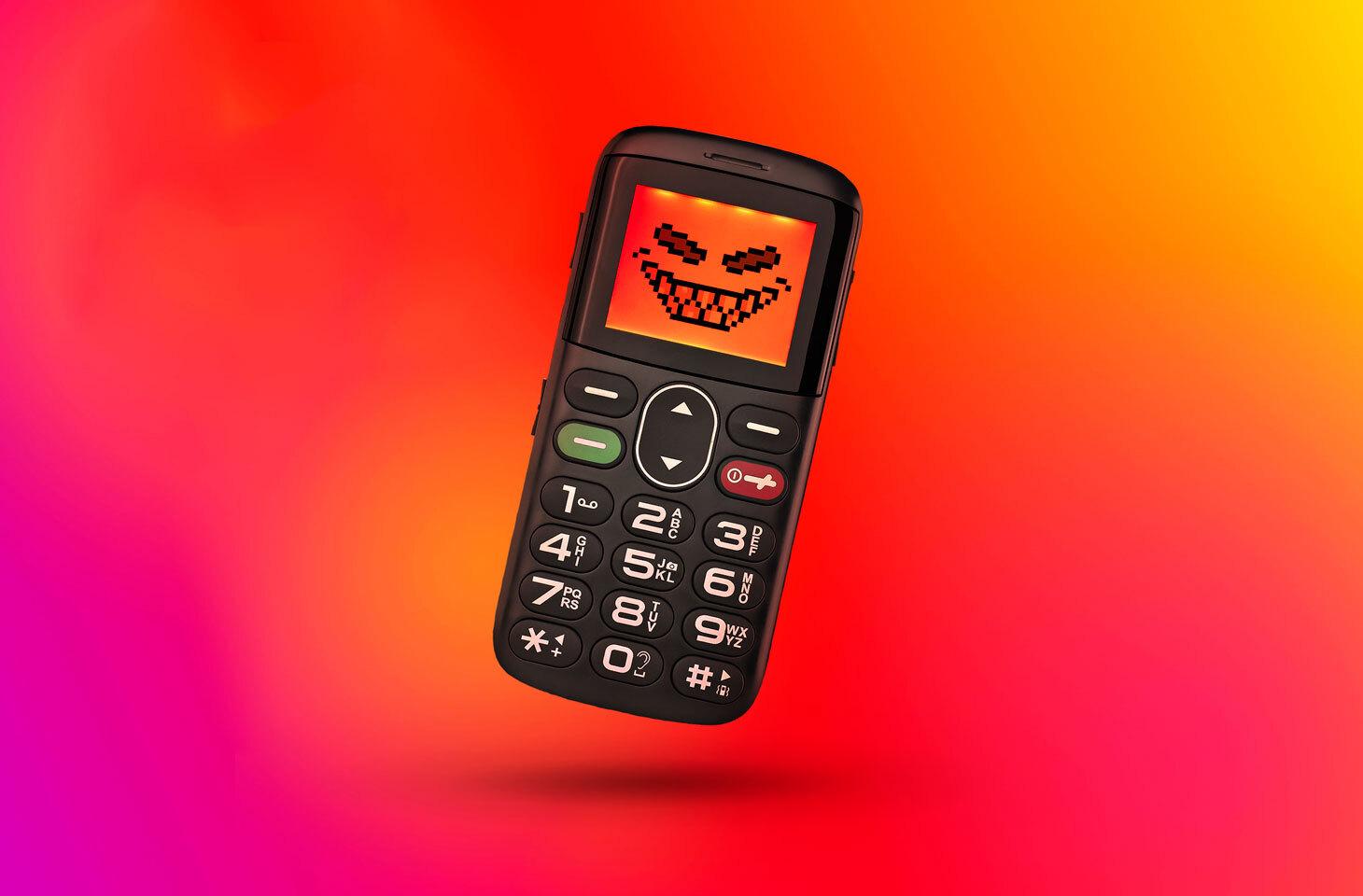 Auch Feature-Phones können gefährlich sein.