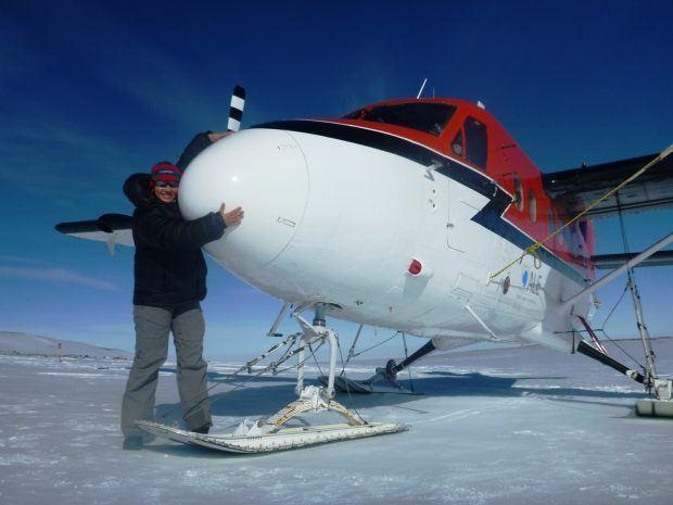シドリー山 飛行機