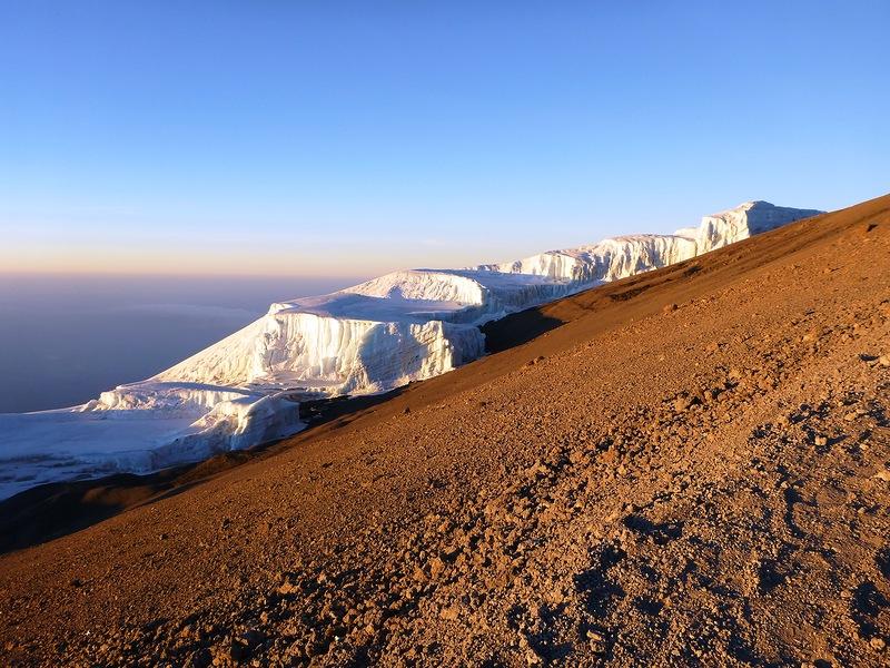 キリマンジャロ 氷河