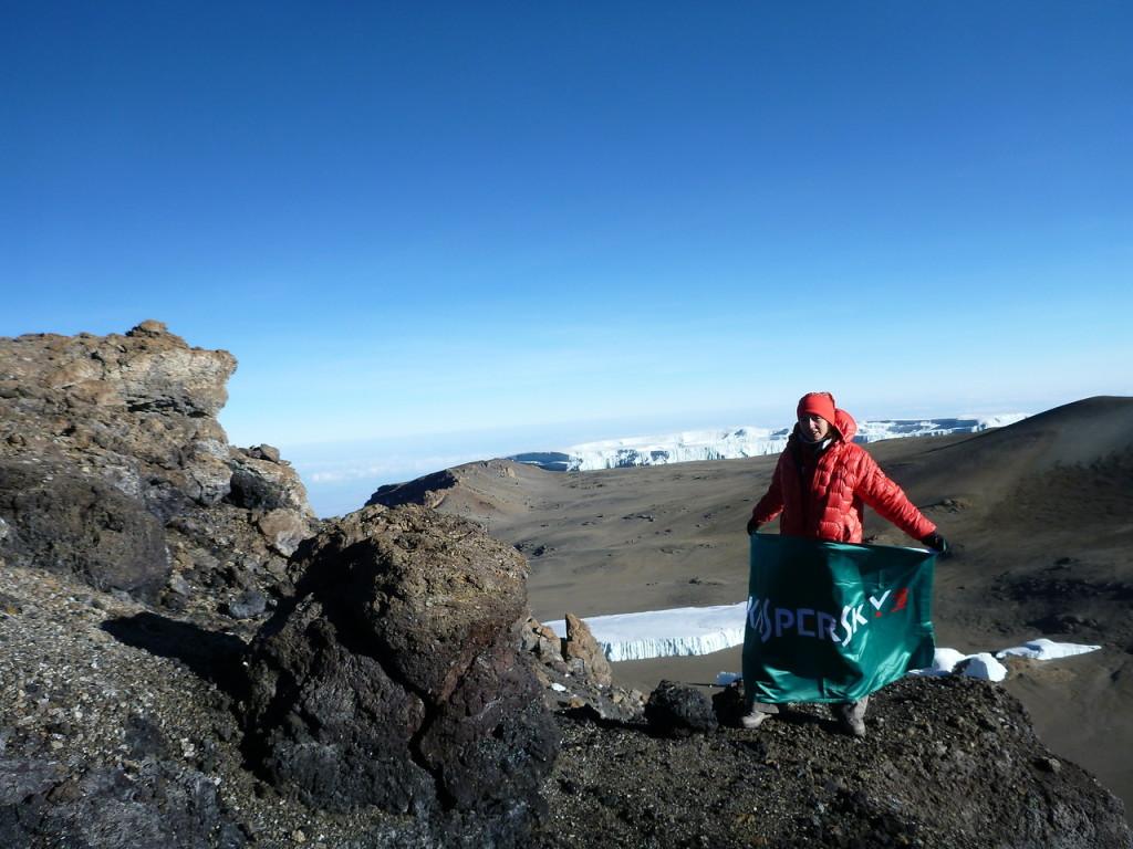 キリマンジャロ山頂 2