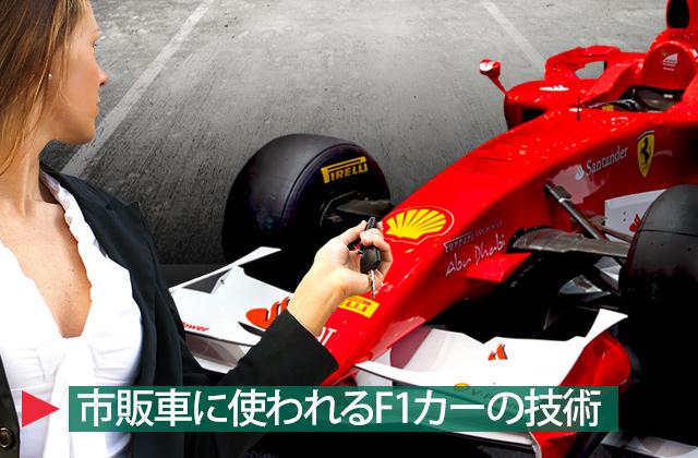F1カーの技術-title