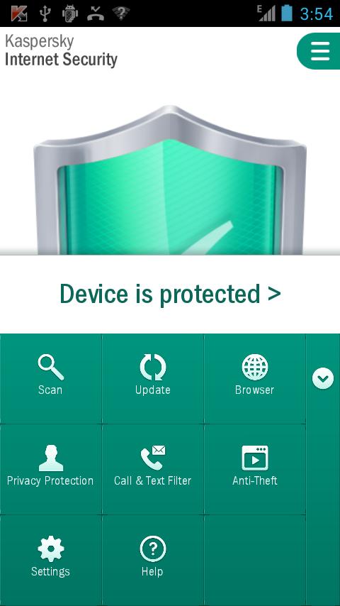 カスペルスキー インターネット セキュリティ for Android