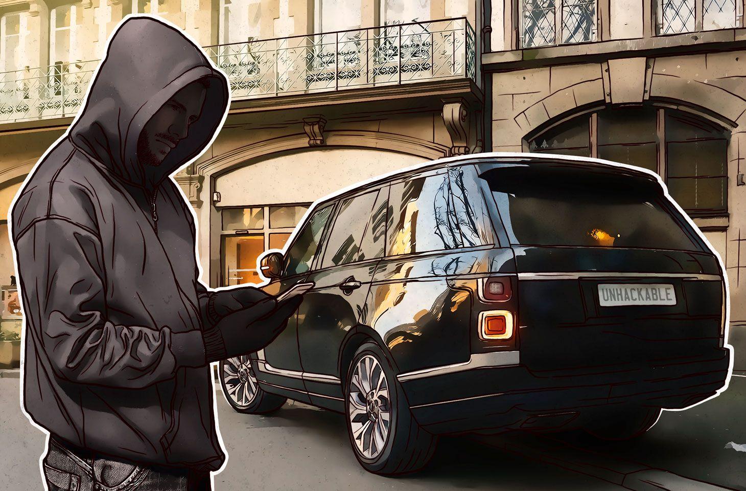 自動車用IoTデバイスのハッキングはバールで攻撃するより簡単か