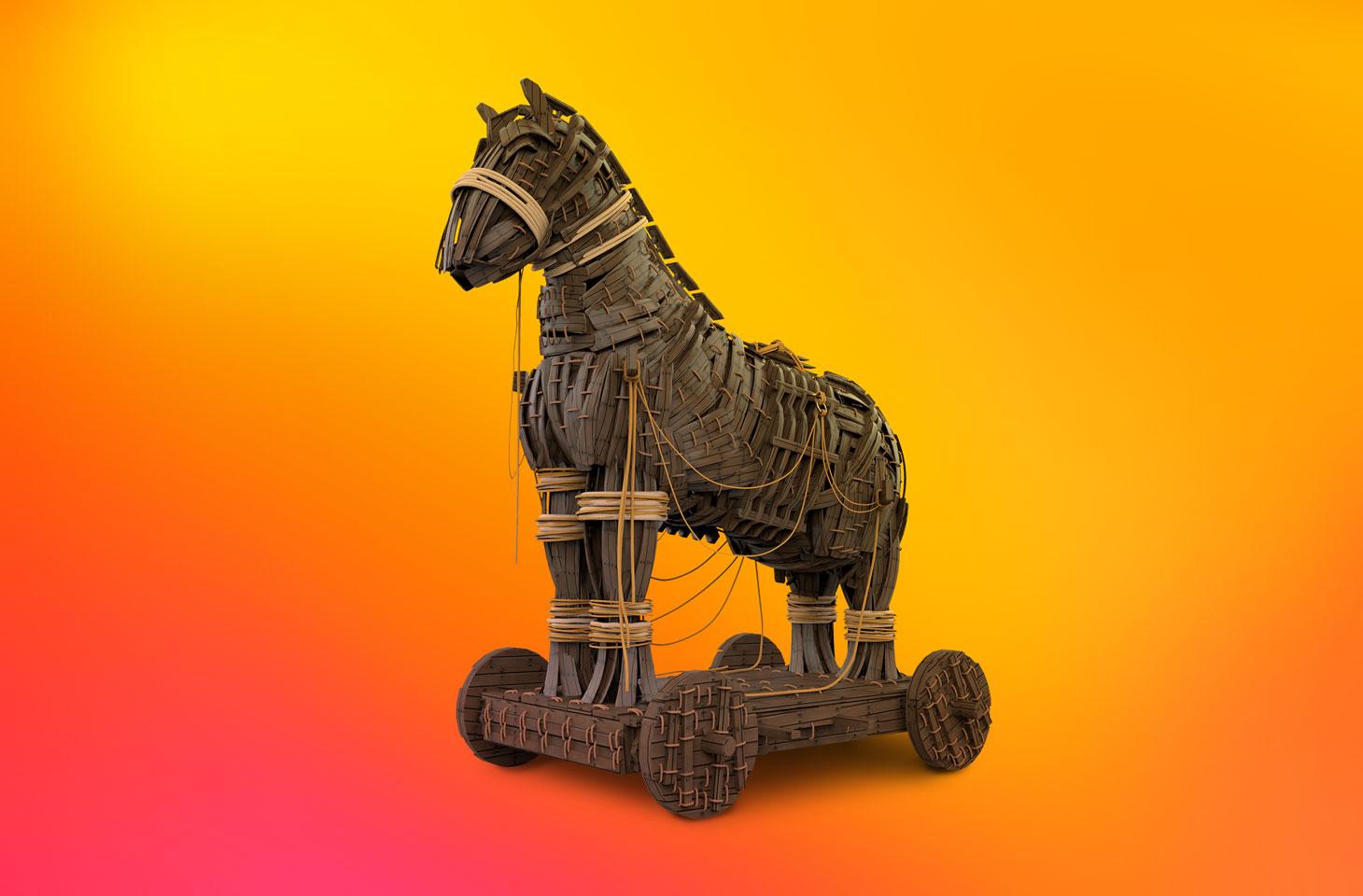 攻撃的なメッセージをばらまくトロイの木馬、Faketoken
