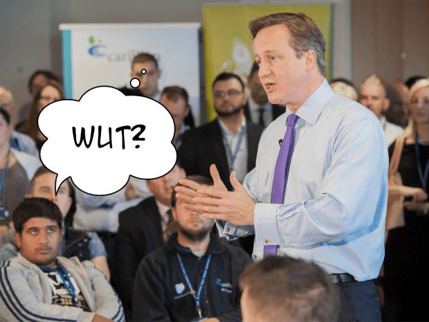 Waarom helpt Cameron de cybercriminelen?