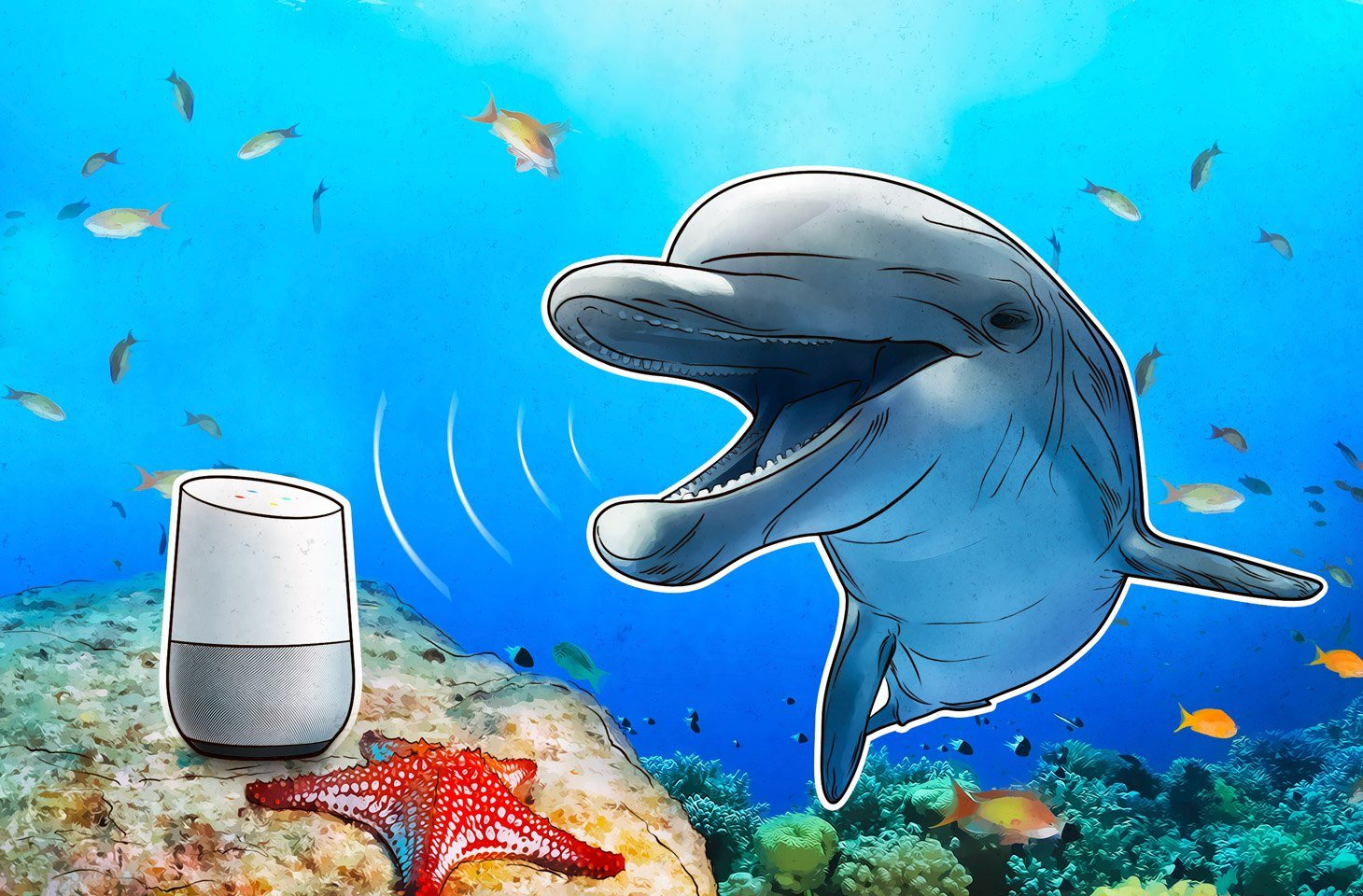 Voice assistenten controleren met verscholen ultrageluid en audio-opnamen in het achtergrondgeluid