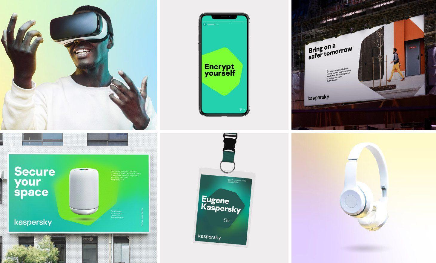 Kaspersky's nieuwe merk